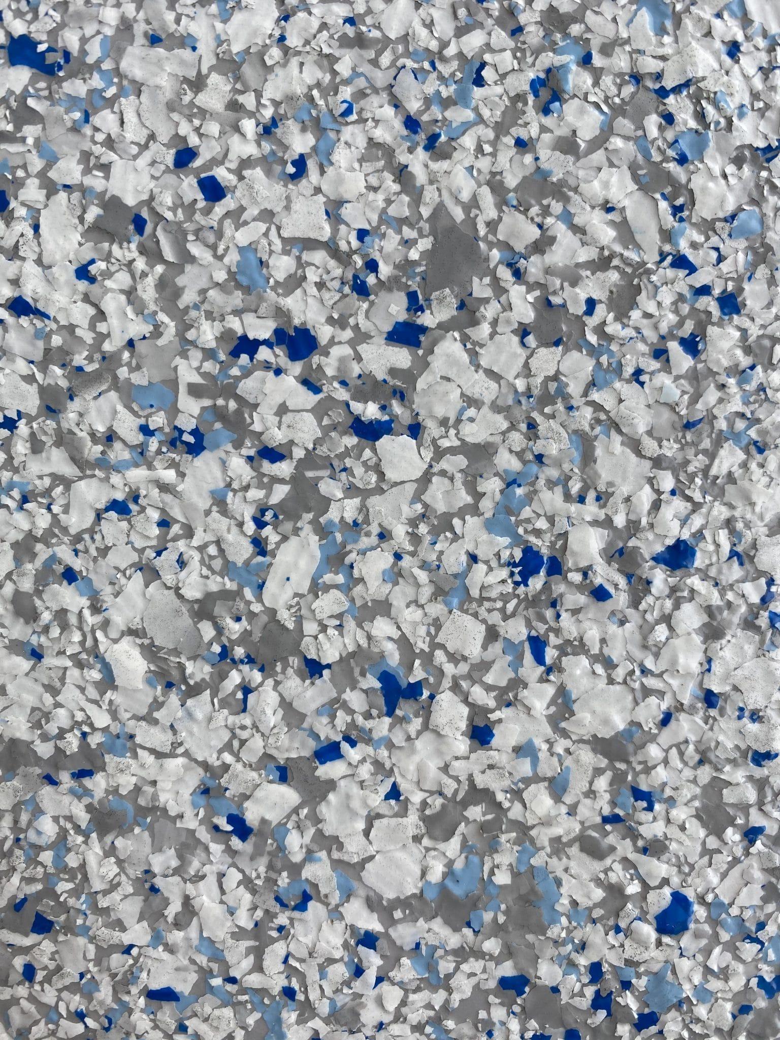 flake finish garage floor resin floor artic