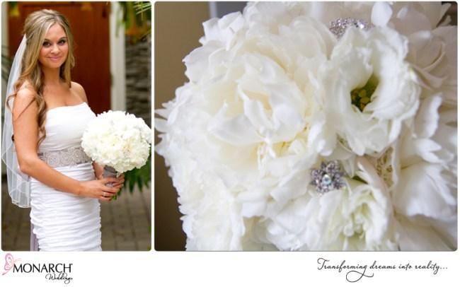 Peony-hydrangea-gardenia-bridal-bouquet-with-silver-wrap-broach