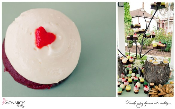Cupcake-heart-cupcake-tree-stand-and-real-wood-logs-for-dessert-table
