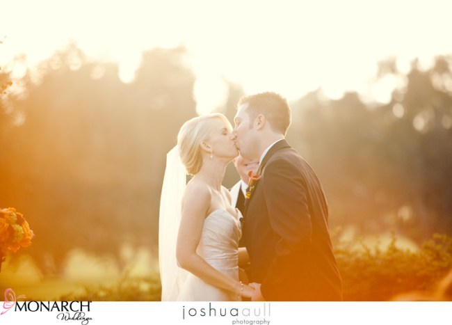 Lodge-at-torrey-pines-ceremony-orange-and-purple-wedding