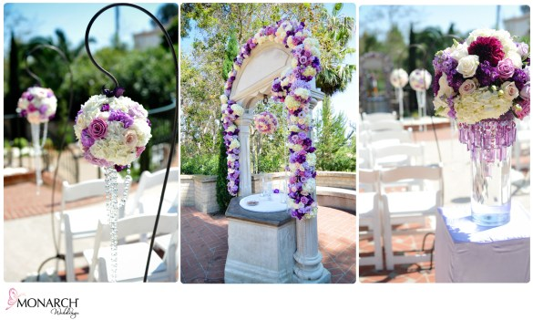 CEREMONY_PURPLE_FLOWERS_HYDRANGEA_CRYSTALS_SHEPPARD_HOOK_POMANDERS