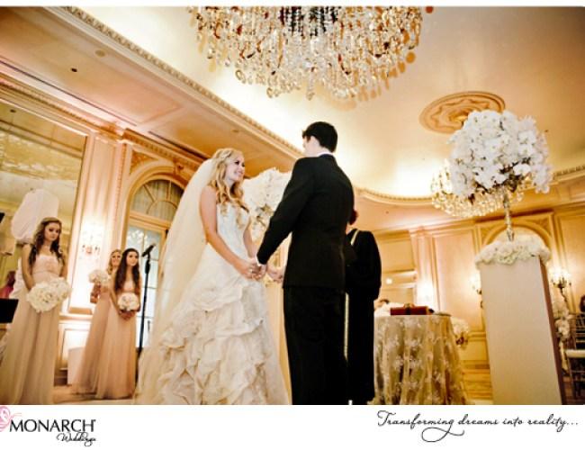 Crystal-chadelier-blush-french-vintage-wedding-westgate-hotel