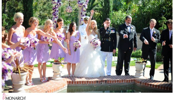 Wishing_well_Coin_Toss_Prado_Large_Bridal_Party_Purple_Bridesmaids
