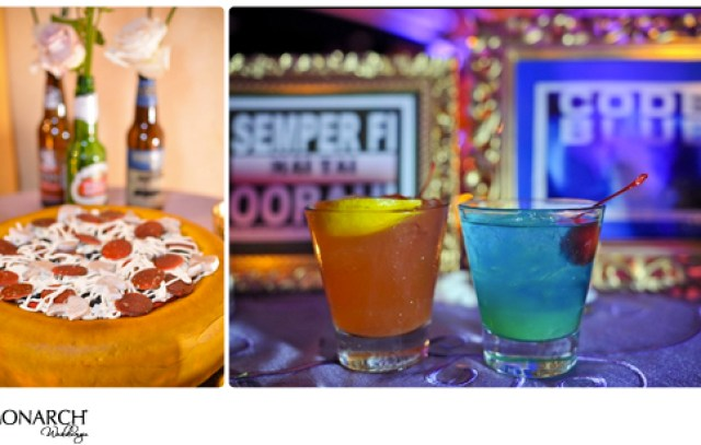 Grooms-cake-looks-like-pizza-specialty-cocktail