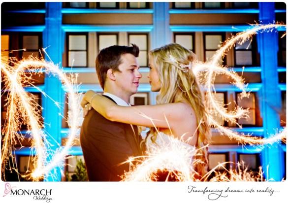 sparkler-photo-blush-french-vintage-Westgate-hotel-wedding