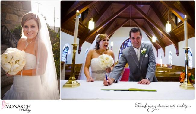 Couple-signing-marriage-certificate-orange-gray-wedding