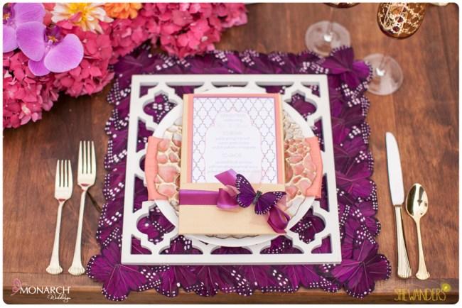 Farm-table-butterfly-placemats-exquisite-weddings-J-Grace-menu