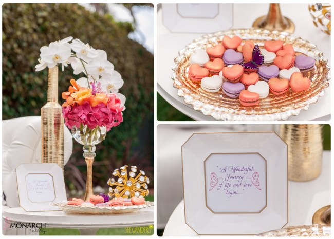 Exquisite-weddings-macaroons-butterfly