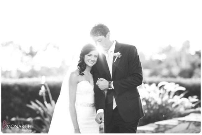 Garden-Chic-Rustic-Wedding-Bride-and-groom