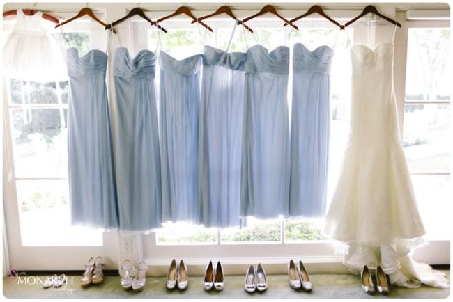 Rancho-Santa-Fe-Garden-Wedding-Powder-Blue-Bridesmaids-Dress