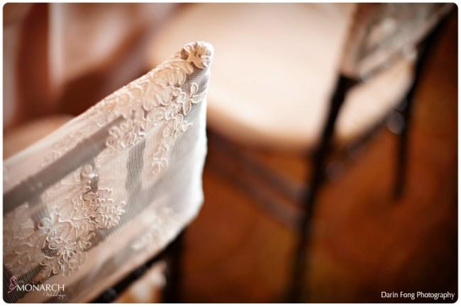 Blush-black-white-wedding-at-La-Valencia-Lace-chair-covers