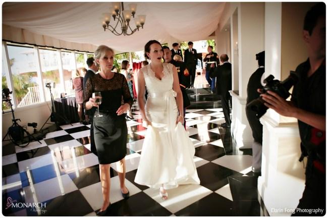 Blush-black-white-wedding-at-La-Valencia-Room-reveal-to-Bride