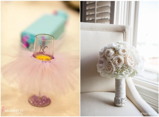 champagne-tutu-ivory-bridal-bouquet