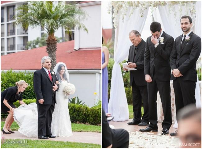 Vista-walk-ceremony-hotel-del-coronado-wedding