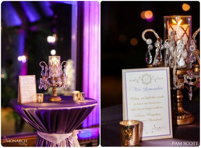 memorial-candle-for-weddingl-place-cards-hotel-del-wedding-san-diego-wedding-planner