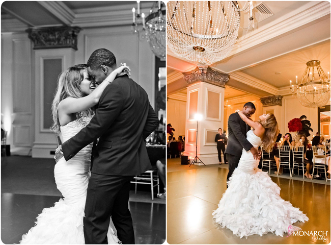 First-dance-gold-custom-dancefloor-us-grant-hotel