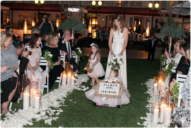 flowergirl-in-training-cart-hotel-del-coronado-wedding