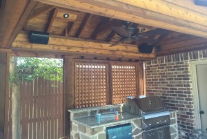 Patio Sound System Design