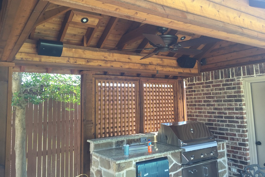 Patio Sound System Design