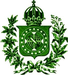 Brasão Imperial verde
