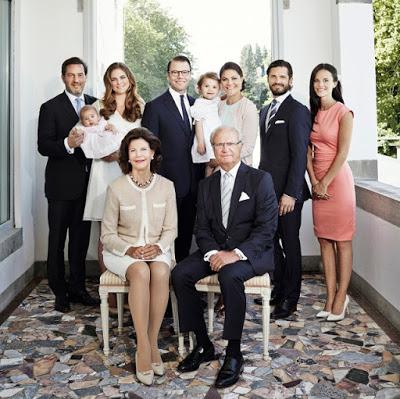 Família Real da Suécia