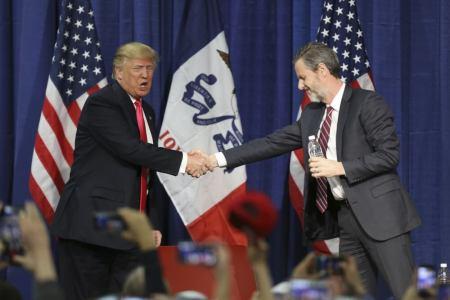 Jerry Falwell Jr. Says GOP Establishment Leaked Trump Tape