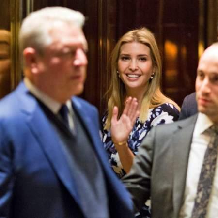 Al Gore Meets with Donald, Ivanka Trump