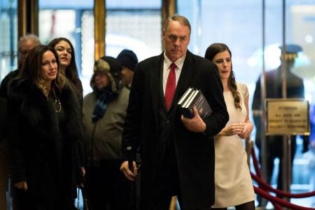 Trump Chooses Rep. Ryan Kinke for Secretary of Interior