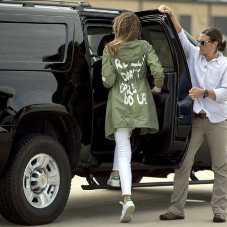 What Melania Wore to Child Detention Center in Texas and The Controversy