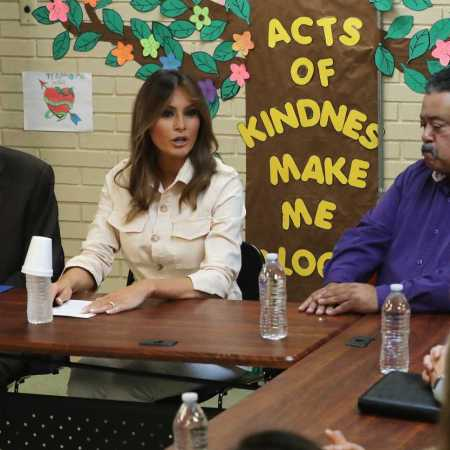 Melania Trump Makes Surprise Trip to Child Detention Center in Texas