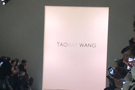 Taoray Wang F/W 2018 Collection