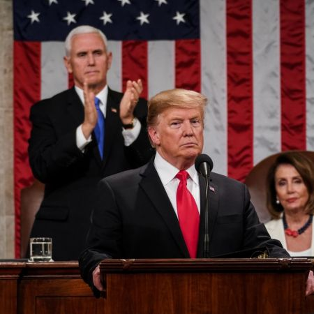 President Trump Calls for End of 'Political Stalemate' in State of the Union Address