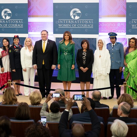 What Melania Wore Celebrating International Women's Day