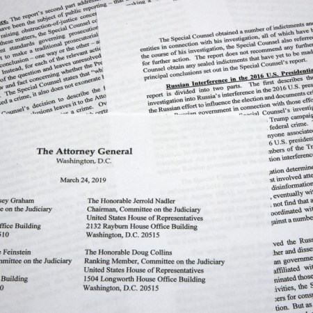 Mueller Report Summary Released; Finds No Trump-Russia Conspiracy