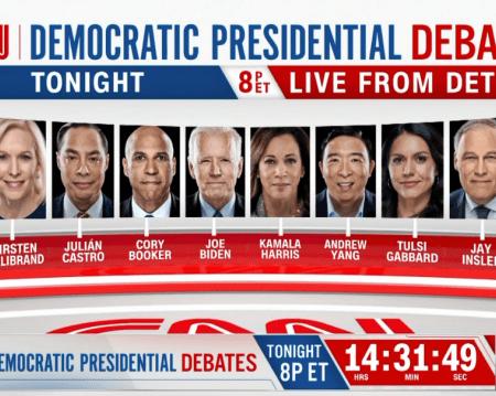 Live Blog: CNN Democratic Debate Night 2