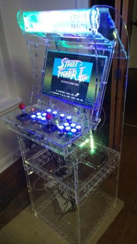 Transparent Arcade Machine