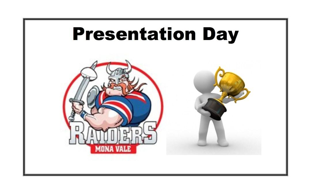 2019 Presentation & AGM Day