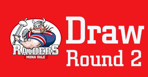 Round 2 Draw – 2018