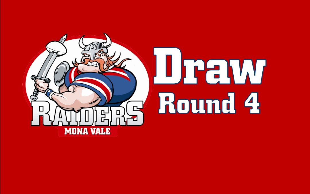 Round 4 Draw UPDATED – 2018