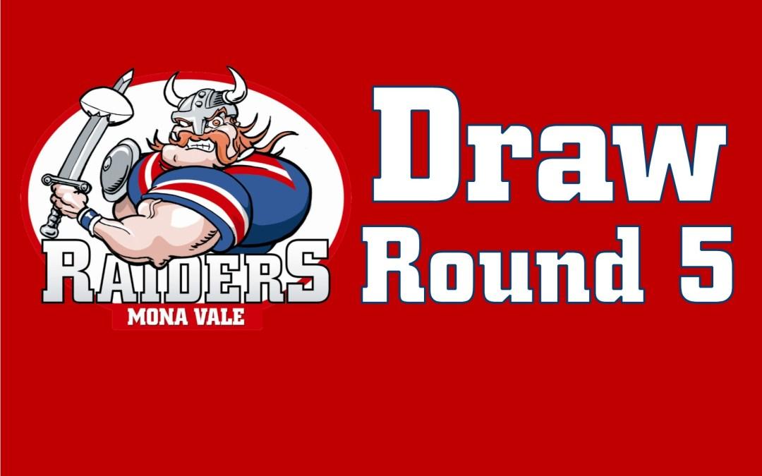 Round 5 Draw- 2018