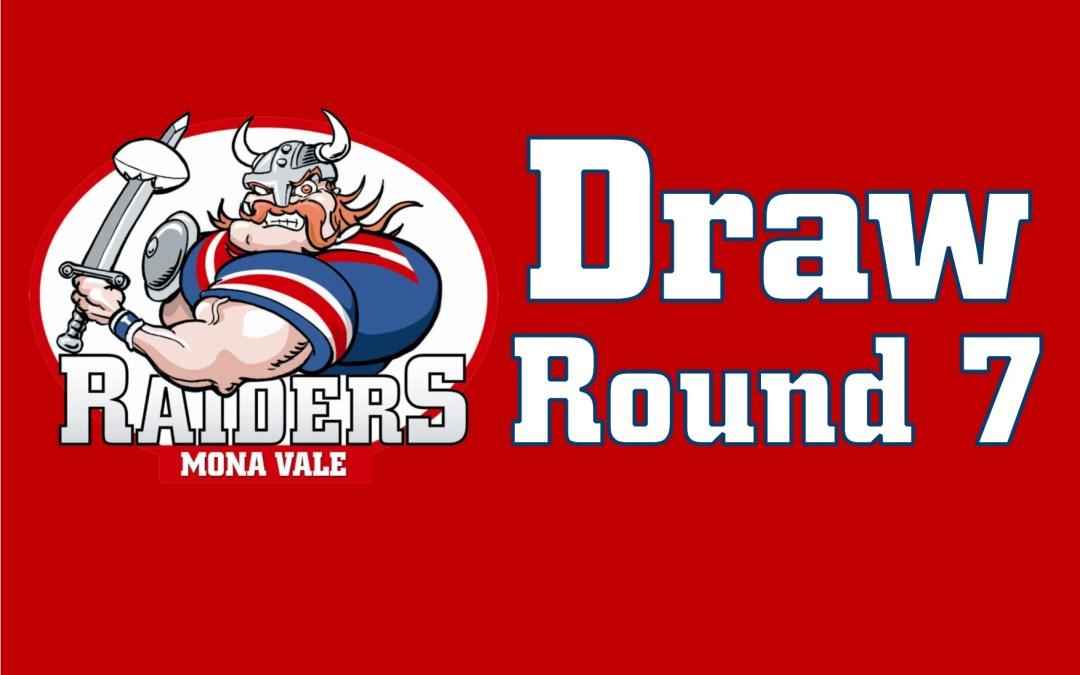Round 7 Draw – 2018
