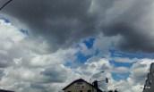 ciel couvert annonçant la pluie