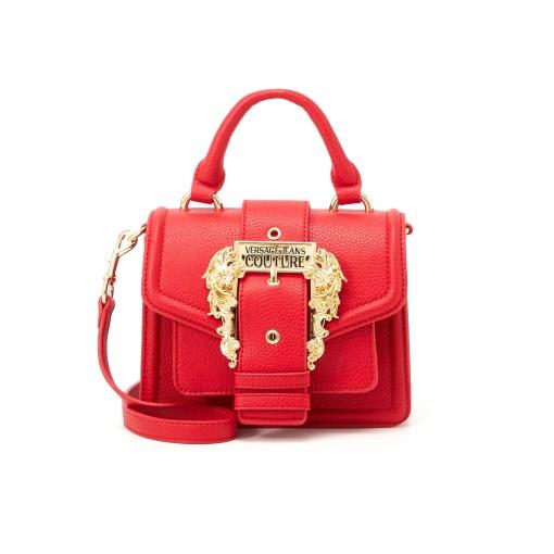 borsa a mano tracolla grana pu buckle red rossa versace jeans couture 01