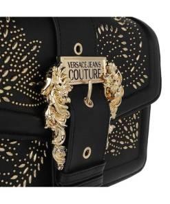 borsa tracolla pu studs buckle nera borchie mini versace jeans couture 01