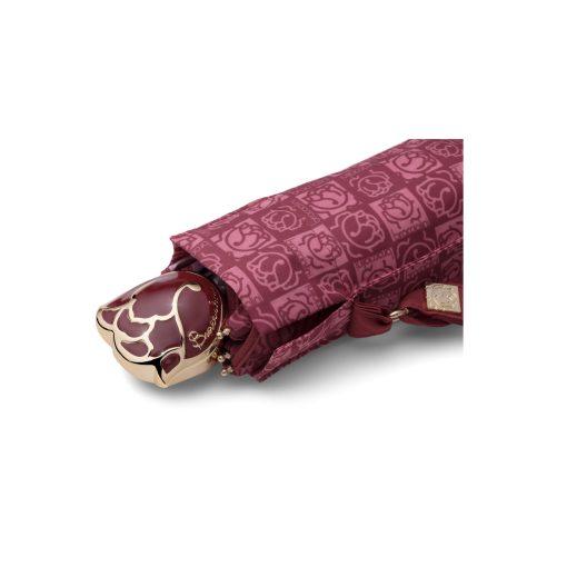ombrello mini Ilary bordeaux logo farfalle braccialini 03