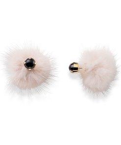 orecchini visone cipria braccialini bijoux
