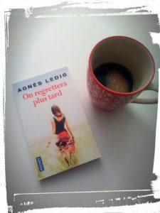 """couverture du livre """"on regrettera plus tard"""" d'Agnès Ledig monblabladefille.com"""