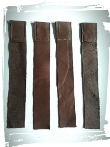 Bande de cuir pour sac en cuir de style Gérard darel tuto home made monblabladefille.com