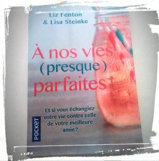 Livre A nos vies (presque) parfaites de Liz Fenton et Lisa Steinke avis monblabladefille.com