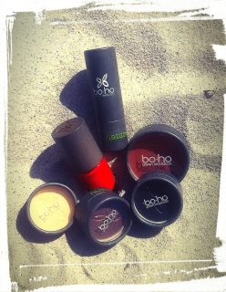 Photo maquillage marque BOHO test avis bio naturel monblabladefille.com